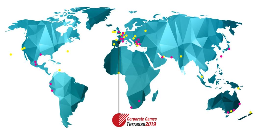 #YoDoymisPasos participa en los Corporate Games de Terrassa 2019